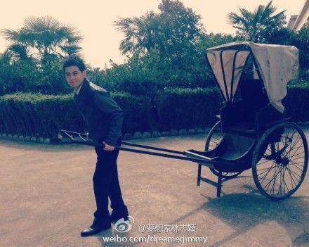 林志颖 猎人 变车夫 再与张娜拉合作