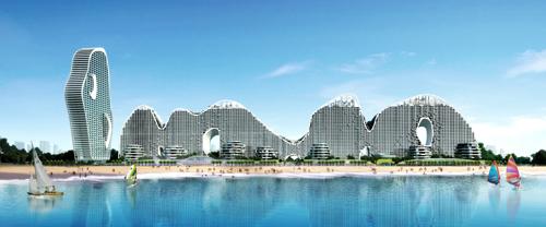 广西北海城市风景