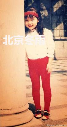 唐嫣昔日可爱童年萌照曝光(组图)