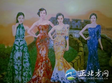 女主持新四大美女图中国现代四大美女朝鲜美女图