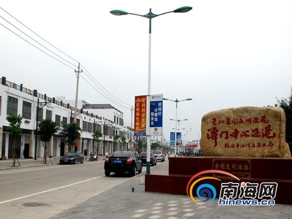 琼海潭门镇:海南渔业重镇变身风情小镇