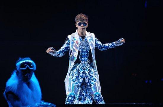 """罗志祥/罗志祥""""舞极限""""上海个唱在梅赛德斯/奔驰文化中心举行。..."""
