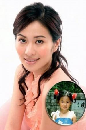 叶璇童年照:普普通通的小女孩