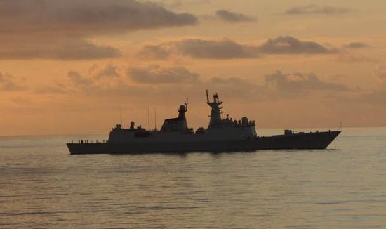 今日钓鱼岛军事新闻_中国海军南海舰队编队今日在钓鱼岛附近巡航_新闻_南海网
