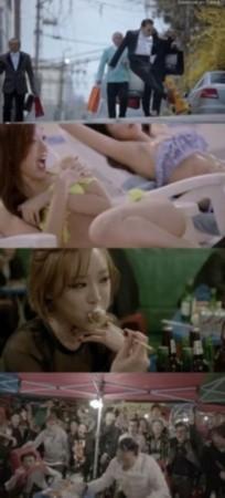 mv 新曲/鸟叔新曲MV中包含暴露和损坏公共财产的画面...