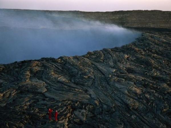 世界 壮观/圣海伦斯火山喷发后景象(图片提供:Steven L. Raymer, National...