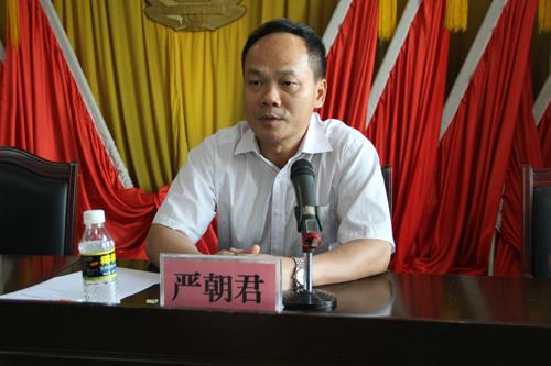 严朝君任昌江县人武部党委第一书记(图)_昌江