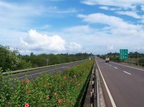 海屯高速姹紫嫣红一路风景