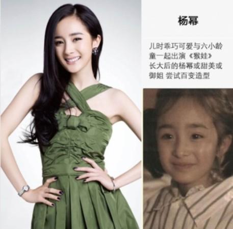 杨幂徐娇潘之琳 揭秘昔日童星如何成最卖座女神图片