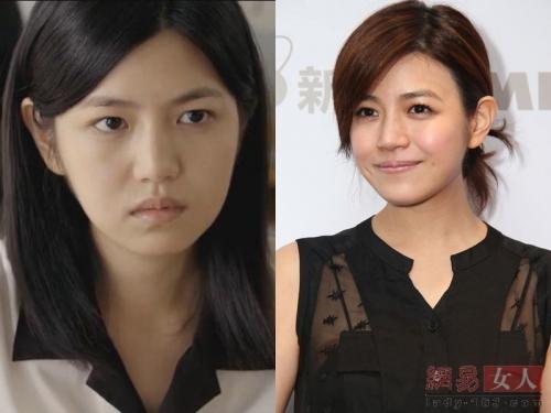 刘诗诗杨蓉刘亦菲高圆圆 素颜女神上妆变大妈的女星