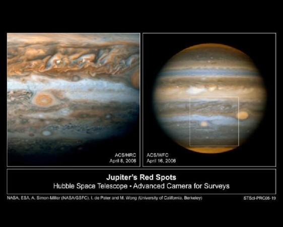 木星表面的新风暴; 科学家观测系内最剧烈土星风暴