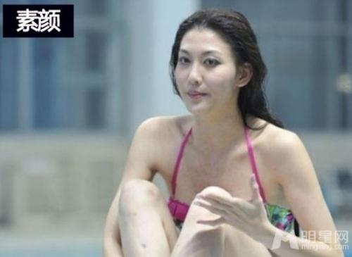 女星伪素颜揭秘王丽坤上榜 开扒素颜照ps变脸过程