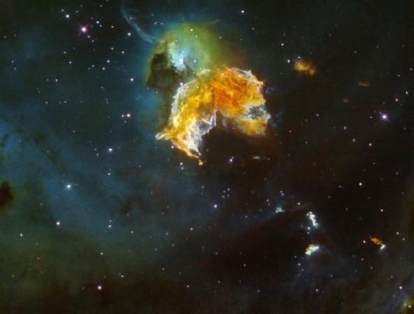 超新星遗迹 中国纪录最古老超新星爆发过程