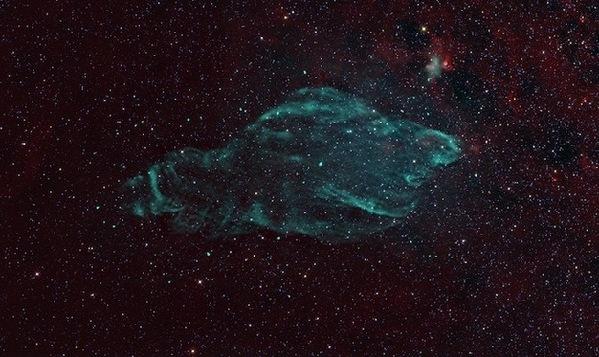 超新星爆发遗迹 恒星解体照亮夜空8个月