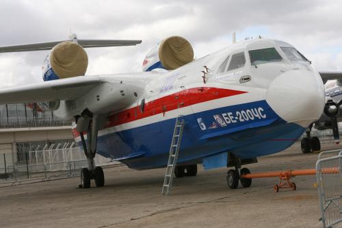 俄军方首次订购世界最大两栖飞机(图)