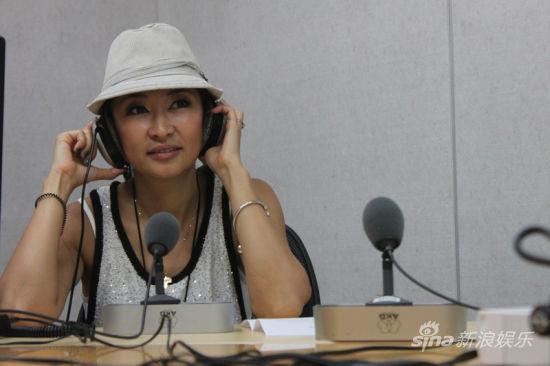 中国国际广播电台《边走边看》栏目的直播间,和大家分享了她