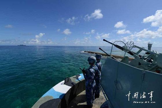 菲越在南海岛礁大肆兴建军事基地 守军达数千人__海南