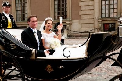 玛德莲 马德 奥尼尔/瑞典公主玛德莲与未婚夫(资料图)