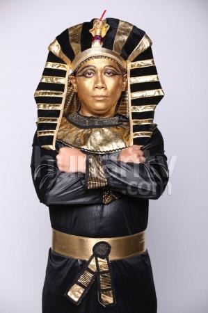 减分,谢娜变身埃及艳后、许杰辉则化身埃及法老、李维嘉模仿秦代兵图片