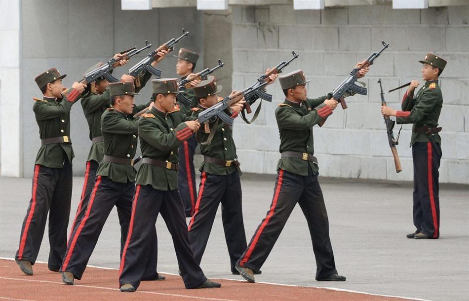 朝鲜万景台精英军校首次公开