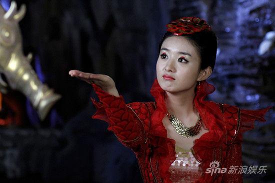 赵丽颖饰演红绫-追鱼传奇 开播 赵丽颖娇俏造型抢眼图片