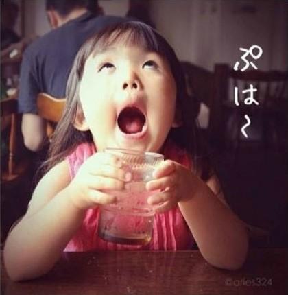 齐刘海女孩走红instagram 被封表情女帝大人(图)图片
