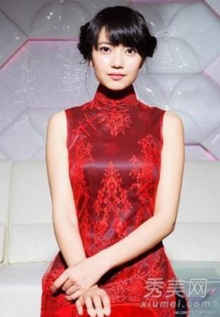 女星旗袍造型比美