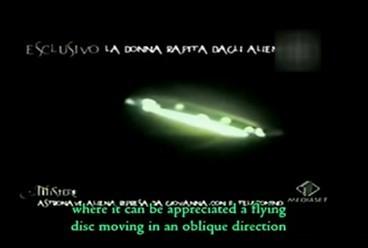 anna提供的UFO照片-意大利女子称被飞碟绑架 遭外星人强奸产子