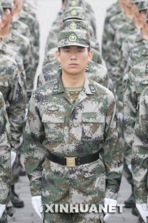 图片全解解放军07式军装
