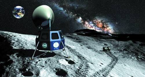 月球望远镜设想图