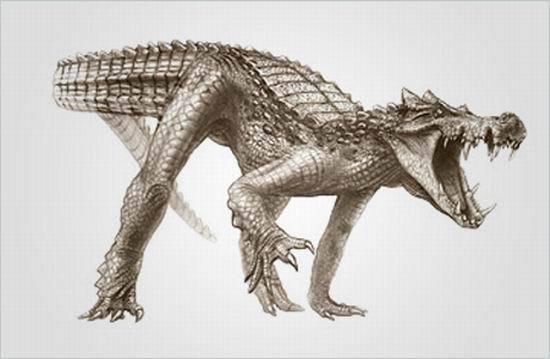 7大怪异动物祖先:史前巨猿比北极熊更大(图)
