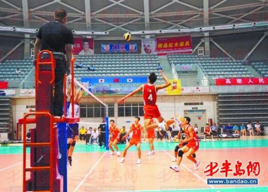 中日韩青少年运动会排球比赛落幕 中国女队获亚军