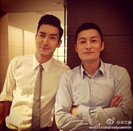 新浪娱乐讯9月4日凌晨,余文乐在微博晒出一张与韩国明星崔始源的