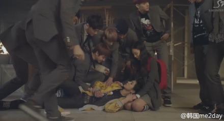 EXO公开第二波剧情版MV 精彩花絮抢先曝光