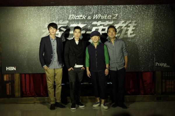 《痞子英雄2》新阵容--黄渤、赵又廷、林更新   《痞子英...