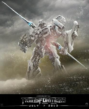 变形金刚4 宣传海报出炉 机器恐龙全部现身高清图片
