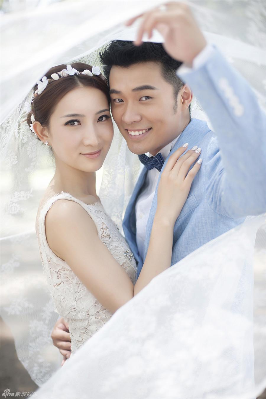 陈赫浪漫婚纱照曝光 在泰国普吉岛举办婚礼[高清]