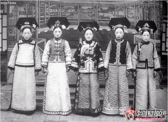 满清皇帝后宫三千妃嫔都长啥模样高清图片