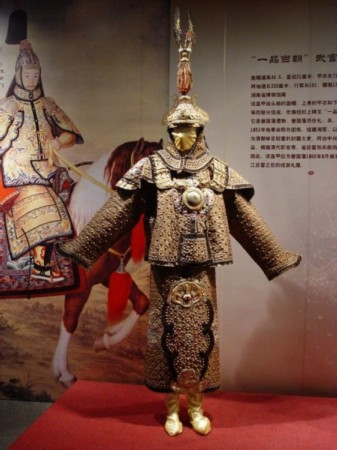 中国古代盔甲赏析 汉唐明清皆有