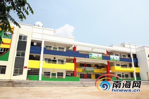 海口:龙泉镇中心幼儿园教学楼未最终验收就招生