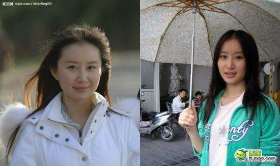 赵丽颖Angelababy刘亦菲陈妍希赵薇女星素颜