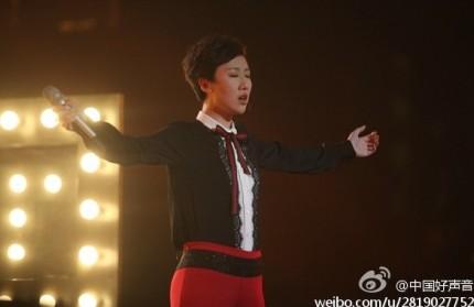 中国好声音第二季汪峰组冠军赛开战 单冲峰首