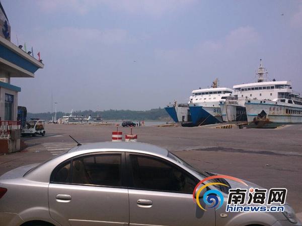 而这段时间,从广东海安发出的船舶班次也是最密集的时候.