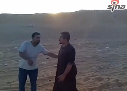 沙特男子街头快闪跳舞被判刑 裸体男子额外受鞭刑2千下