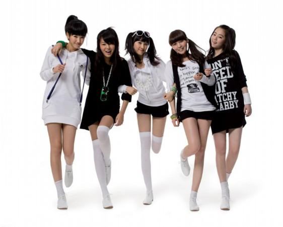 韩国美女组合tara成员