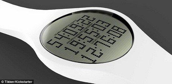 """发明家设计""""死亡手表"""" 定位死亡时间精确至秒"""