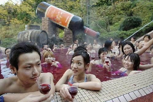 日本混浴盛行 盘点匪夷所思的民间文化【图】