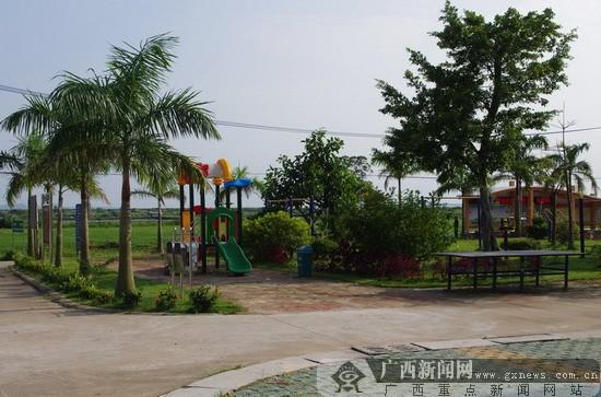 交东村的风景不亚于任何景点.广西新闻网记者苏琳摄