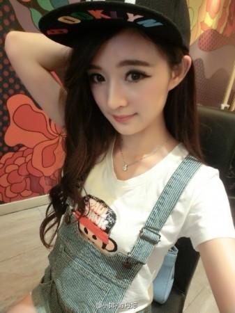 网友围观其微博照片发现她不仅像杨幂,还像赵丽颖和林依晨,不少网友