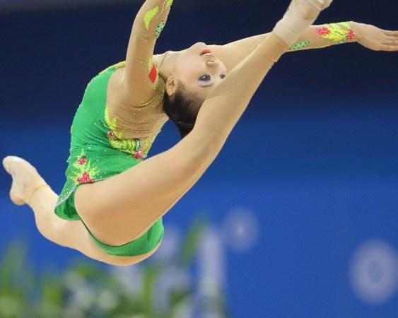 中国艺术体操运动员
